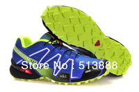 2013 Salomon barefoot running shoes , flexiable men athletic air sports shoes with boxes and tags size:40-45