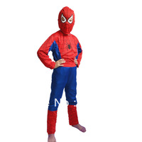 Halloween Costume Party Spiderman Clothing Child Kids Spider-Man Suit kid spider man costume spiderman suit party clothes HY-008