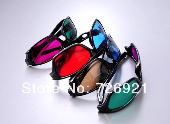 10sets/lot 40pcs Hot Sale Anaglyphic 3D Glasses Viewer High Quality Eyewear Stereo For Images & TV & Games Digital Video(China (Mainland))