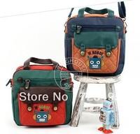 South Korea winghouse children bag handbag aslant bag robot R1456 absolutely quality goods outdoor gift free shipping