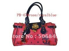 offer promotion! 2012 newest PB shoulderbag totebag women's hand bag with brand new design(China (Mainland))