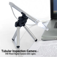 Tubular Inspection Camera USB Wand Digital Camera with Lights USB tubular Inspection Digital Camera With Instant Viewing on PC