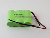 DHL   shipping     100pcs/lot  SC Ni-MH Rechargeable Battery Pack 3.6V 2500mAh