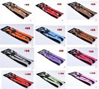 Free Shipping New Children Adjustable solid Suspenders baby Elasti Braces Kids Suspenders,2.0*65CM,21 colors,10pcs/lot
