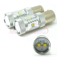 A++ Quality High Power 30W 1156/BA15S Cree Reverse Back-Up LED Bulb Light Lamp Pure White DC 12V-24V Free Shipping 2pcs/lot
