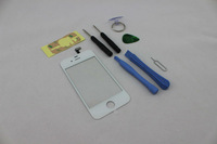 HOT SELL OEM White Touch Screen Glass Digitizer Replacement for iPhone 4S + 8 Tools ADHES