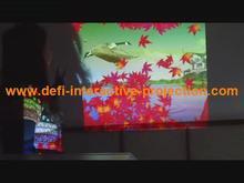 interactive floor promotion