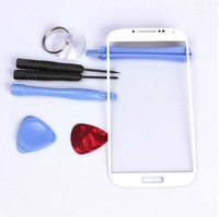 White Outer Screen Glass Lens Replacement for Samsung Galaxy S4 SIV i9500 +Tools