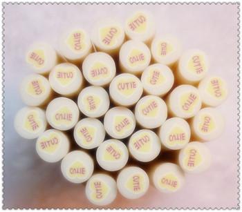 Nail art clay bar fruit of nail art polymer clay decoration tablets diy nail art supplies