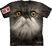 The mountain personalized persian cat lovers 100% cotton t-shirt