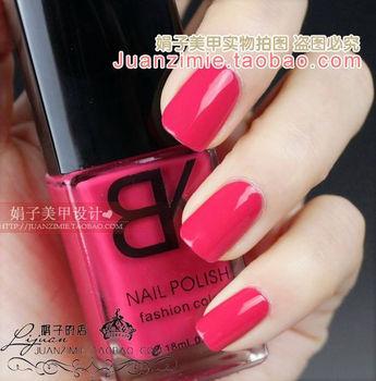 Bottle nail art casebottle bk nail polish oil 18ml sweet cherry red 51