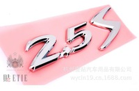 6 2.5S MAZDA  the best  zinc alloy  3d car self-adhesive emblem sticker  logo badge high quality