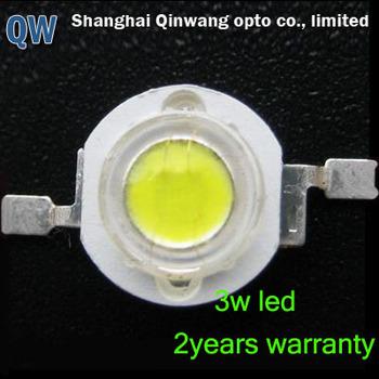 3watt pure white led diodes high power high quality