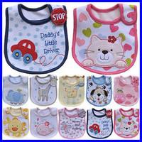 Cotton Baby bib Infant saliva towels carter's Baby Waterproof bib Carter Baby wear 5pcs/lot free shipping WZ13