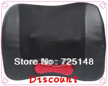 Massage cushion Cheap Auto full body shiatsu infrared electronic body massager Free shipping