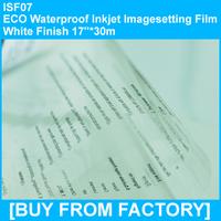 "Waterproof Eco Solvent Inkjet Film 17""*30M"