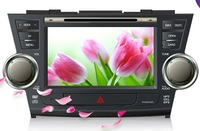 Toyota Highlander Android DVD; 8 inch 1024*600  3G; Android 4.0 UHD 1024*600 APP  WiFi S4 1.2GHZ GPU Adreno203