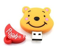 Cartoon Usb flash drive 2 4 8 16 32 64 128GB usb flash Memory disk pendrive, Free HK/CH/SGP post (32 64 128G)
