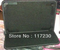 Free Shipping+Drop Shipping Wholesale Newest Protective Leather Case Cover Stand for 7 inch  for all Universal Tablet PC
