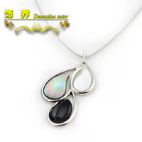 Fashion accessories fashion design short ls abalone necklace jewelry