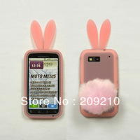 For Motorola Defy ME525 MB525 case Rabbit soft silicone Case cartoon case  with high quality 1pcs/lot
