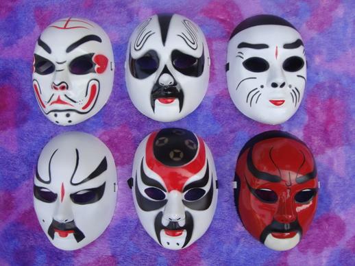Online kopen wholesale chinese opera maskers uit china chinese opera maskers groothandel - Decoratie volwassenen kamers ...