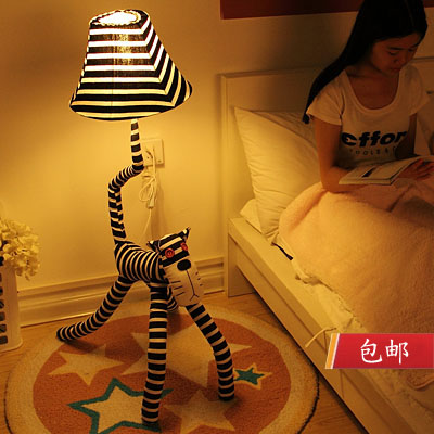 Table lamp living room floor lamp fabric decoration table lamp 36055(China (Mainland))