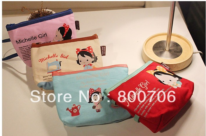 Free Shipping ! 120PCS/Lot, Wholesale Mechell Girl Hand bag / Storage bag / Handbag(China (Mainland))
