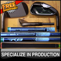 Free Shipping Brand New Golf Clubs Iron Set with 65g Graphite Shaft 4-9PAS Headcovers included Right Handed