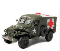 free shipping ! FOV 80062 1:32 WWII U.S. Army Military 4X4 AMBULANCE Ambulance alloy