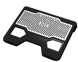 Pccooler m122 11 evolution aluminum laptop cooling pad panel(China (Mainland))