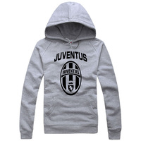 Tang dynasty 2012 autumn and winter hat pocket shirt juventus 100% cotton sweatshirt