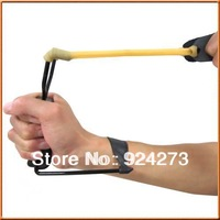 2013 Powerful Folding Wrist Sling Shot Slingshot Outdoor Hunting High Velocity Brace