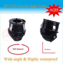 fabrik förderung sony ccd hd nachtsicht rückfahrkamera seitenansicht fondmonitor für 360-grad- rotation universal-kamera(China (Mainland))
