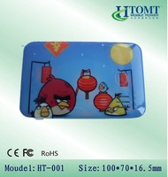 5000mAh portable power bank with cute cartoon