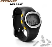Sports Exercise Watch with Pulse + Calorie Reader 12H or 24H display 2013 Men's Sports Watch High Quality FREE SHIPPING
