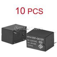 Free Shipping 10pcs Mini Electronic Power Relay DC12V
