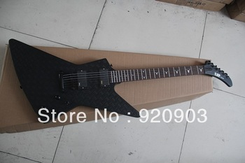 Wholesale ESP Electric Guitar 6 String Snakebyte Custom James Hetfield Rose Wood Black Color Have In Stock Free Shipping