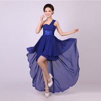 2013 bride skirt short evening dresses  free shipping