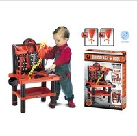 Toy child artificial tool box set boy multifunctional storage box  size 70X44X33cm free shipping