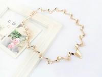 free shipping Women's Basic Necklace fashion waves tassel necklace atmospheric