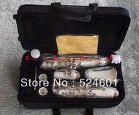 Wholesale manufacturers beautiful gift  17 key bakelite clarinet in B flat surface white