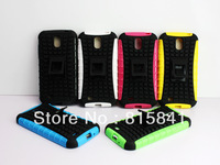 Heavy Duty Shock Proof Case Cover Stand for The New Samsung Galaxy S4 i9500    10pcs/lots