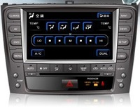 Lexus 2009 IS250 7 inch DVD GPS; touch WVGA 800*480;TFT LCD screen;DSP audio;Radio Bluetooth Ipod SD & USB 2.0 reader;Headrest