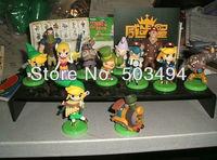 Beautiful Furuta Choco Egg The Legend of Zelda Mini Figure Set of 11 loose part good for kid Free shipping