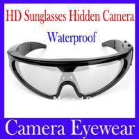 Free shipping Camera eyewear DV78A 4GB Skiing Goggles Sunglasses Water resistance from rain or sweat MOQ=1