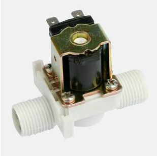 """DC 12V 1/2"""" BSP Plastic Electric Solenoid Valve NC Normal Close Filtrate free shipping"""