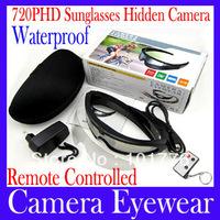 EMS Free shipping Camera eyewear DV78B UV Protection Super Sports Ski Sunglasses 5.0MP+HD720P+Waterproof +Remote , 5pcs/lot