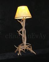 94L*40W*40H cm Traditional/Classic, Art Deco/Retro Artistic Antler Vintage antique rustic American Floor Lamp