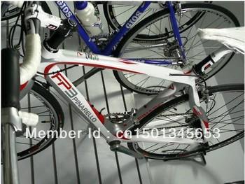 New 2010 Pinarello FP3 Carbon White -Red Complete Bike